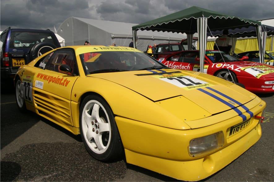Ian Tuite-Sterling racing 2003 Ferrari 348 Challenge