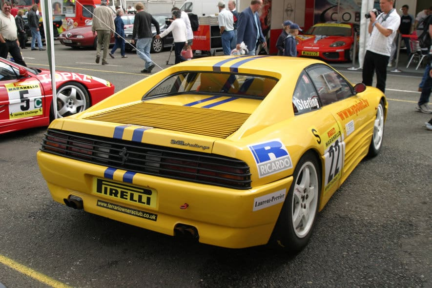 Ian Tuite-Sterling racing 2003 Pirelli Maranello Ferrari Challenge