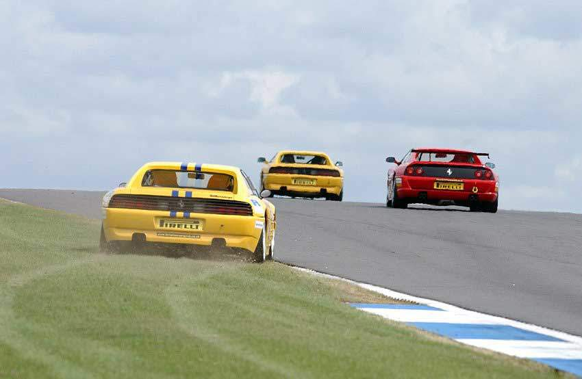 Ferrari 348 Challenge Donington Park 2003
