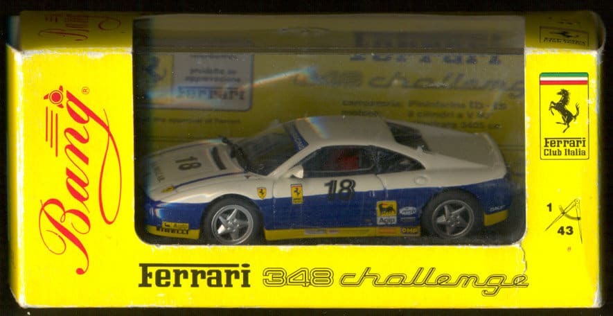 348 Challenge 1-43 scale