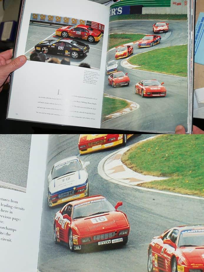 Ferrari 348 Challenge on track Italy
