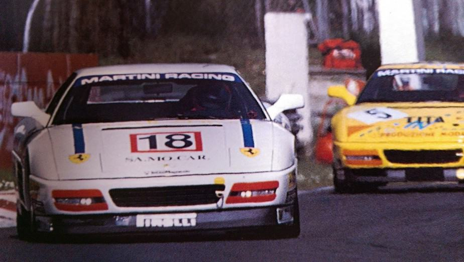 Ferrari 348 Challenge racing 1993