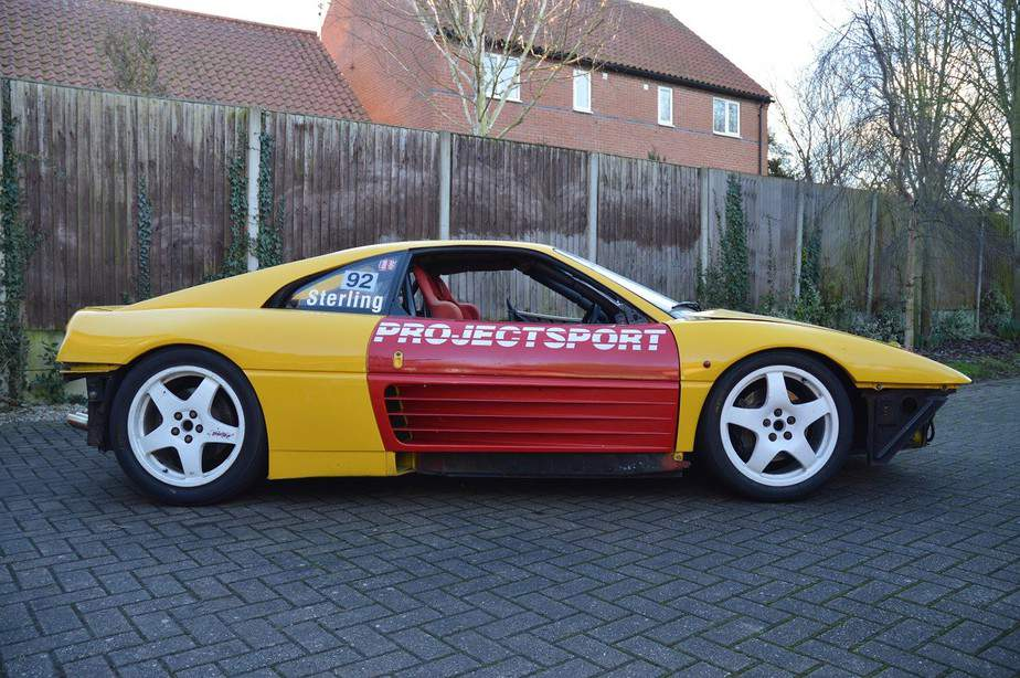 Ferrari 348 Challenge side view pre painting