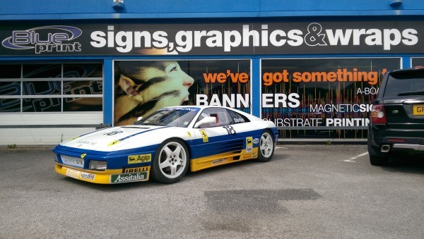 Ferrari 348 Challenge at Blueprint in Nottingham