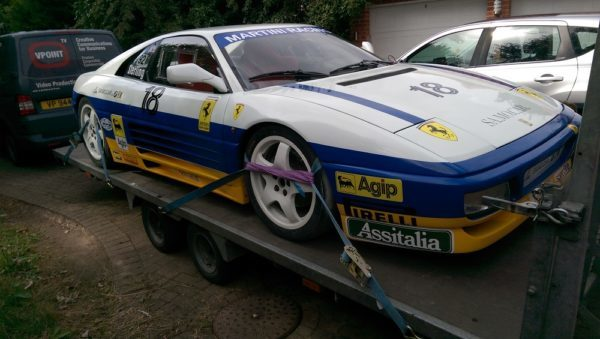 1993 Ferrari 348 Challenge ready for Brands Hatch