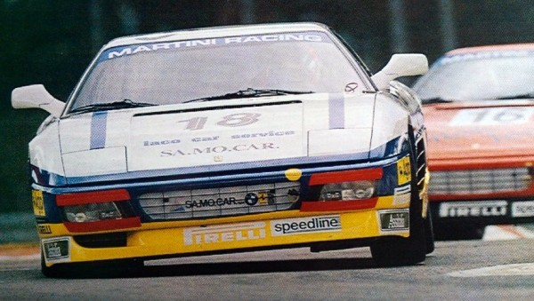 Ferrari 348 Challenge Racing in 1993