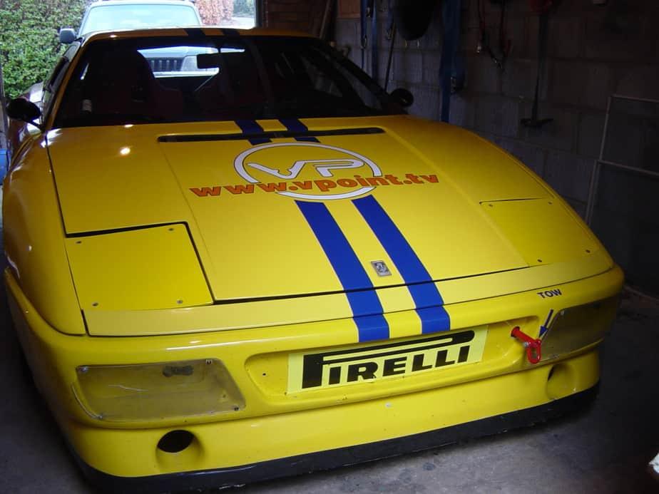Vpoint TV sponsored Ferrari 348 Challenge