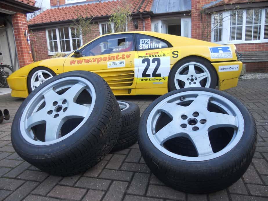 Ferrari 348 Challenge at home