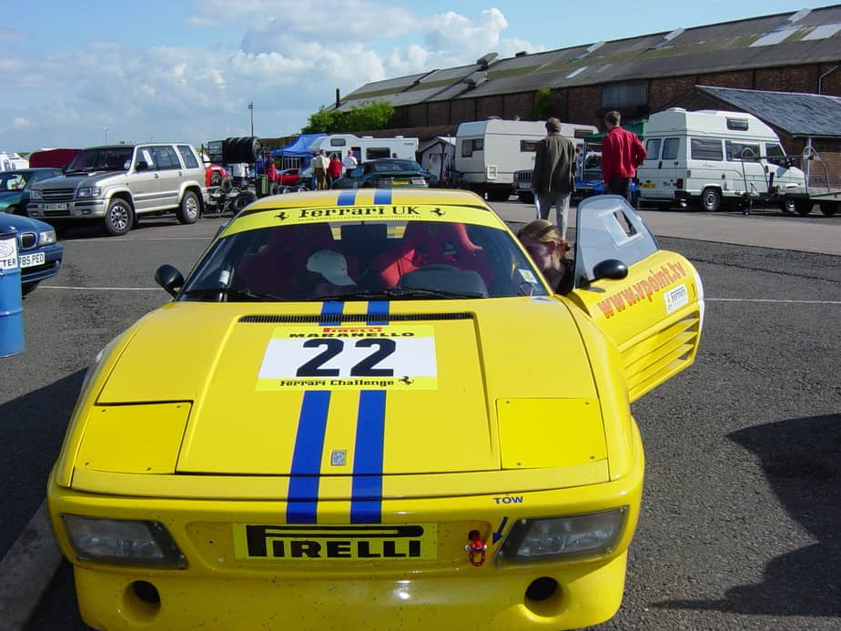Ferrari 348 Challenge Donington 2003