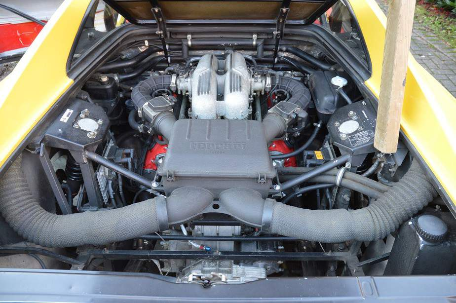 Recently refurbished engine