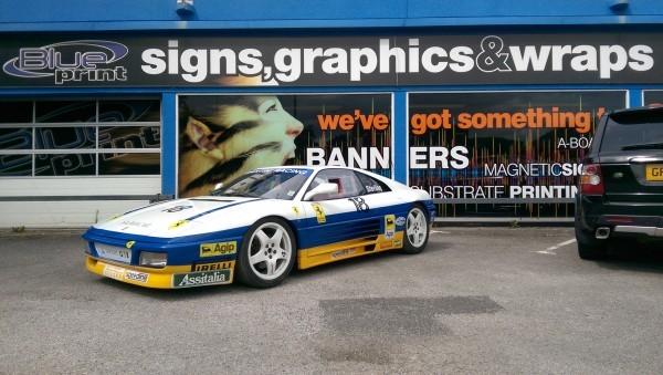 Ferrari 348 Challenge at Blueprint in Nottingham